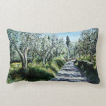 OLIVE TREES IN RIMAGGIO TUSCANY THROW PILLOWS