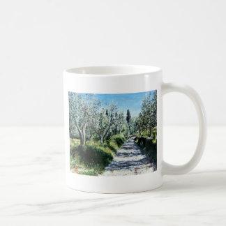 OLIVE TREES IN TUSCANY COFFEE MUG