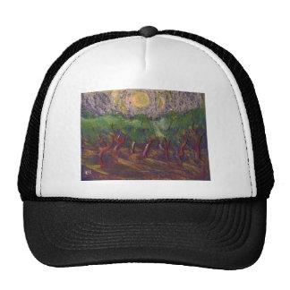 OLIVE TREES TRUCKER HAT