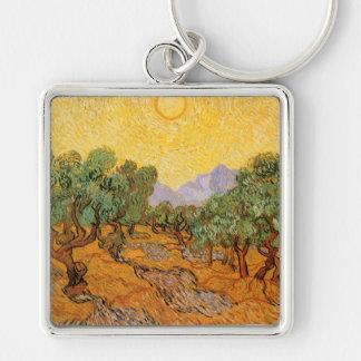 Olive Trees, Vincent Van Gogh Keychain
