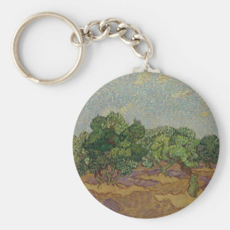 Olive Trees - Vincent van Gogh Keychain