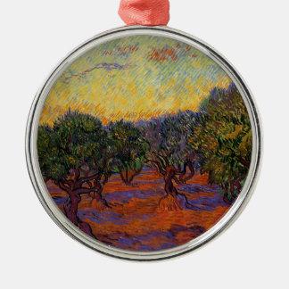 Olive Trees - Vincent Van Gogh Metal Ornament