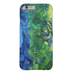 Olive Trees with the Alpilles in the Background iPhone 6 Case