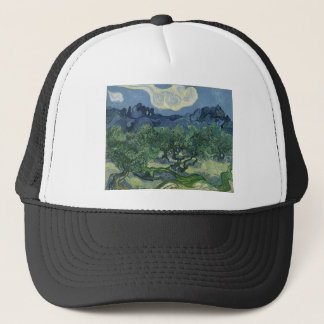 Olive Trees with the Alpilles in the Background Trucker Hat