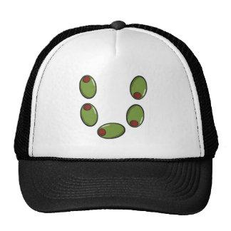 Olive u trucker hat