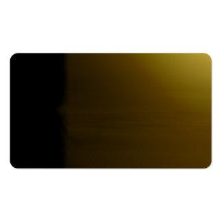 Olive Unusual Visual Identifiers Biz Card