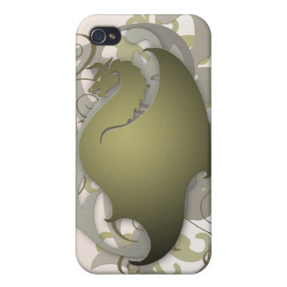 Olive Urban Fantasy Dragon 4g I iPhone 4/4S Case