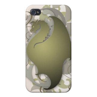 Olive Urban Fantasy Dragon 4g I iPhone 4 Covers
