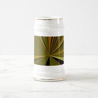 Olive Vanishing Point Beer Stein