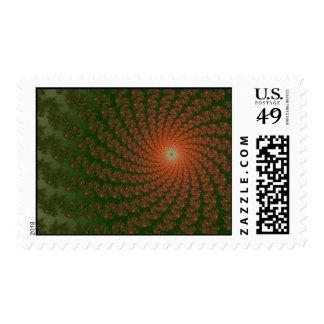 Olive Whirlpool2 Postage Stamp