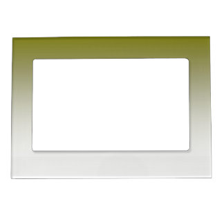 Olive White Ombre Magnetic Frame