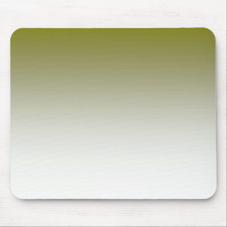 Olive White Ombre Mouse Pad