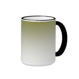 Olive White Ombre Coffee Mug