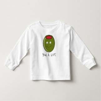 Olive You A Lot Toddler T-Shirt