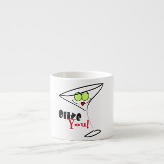 Olive You Espresso Cup