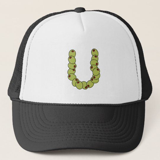"""Olive You """"I Love You"""" Trucker Hat"""