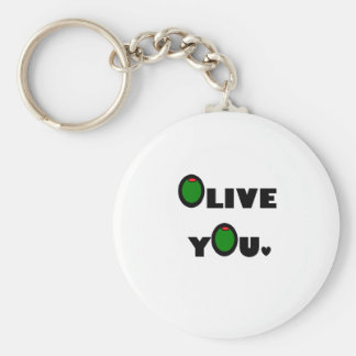 Olive you key chains