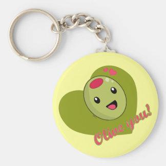 Olive You Keychain