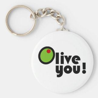 Olive You! Keychains