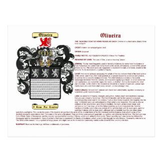 Oliveira (significado) postales