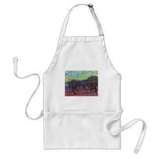 Olivenhain By Vincent Van Gogh Adult Apron
