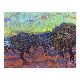 Olivenhain By Vincent Van Gogh Personalized Announcements
