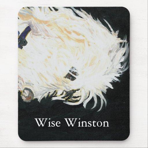 OLIVER_2, Winston sabio, Winston sabio Alfombrilla De Ratón