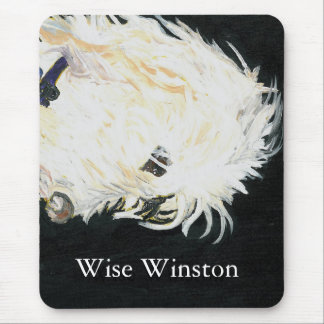 OLIVER_2, Wise Winston, Wise Winston Mouse Pad