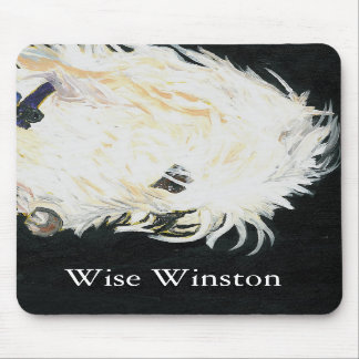 OLIVER_2, Wise Winston, Wise Winston Mouse Pads