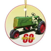 Oliver 60 Row Crop Ceramic Ornament