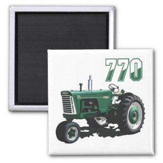 Oliver 770 2 inch square magnet