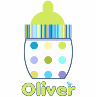 Oliver Baby Bottle Cutout
