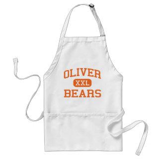 Oliver - Bears - High - Pittsburgh Pennsylvania Adult Apron