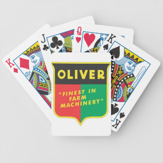 Oliver Bicycle Playing Cards