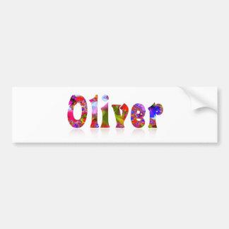 Oliver Bumper Sticker