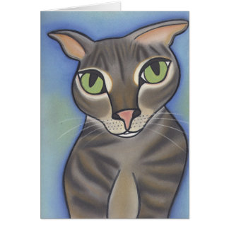 Oliver by Robyn Feeley Greeting Card