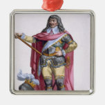 Oliver Cromwell (1599-1658) 1780 (engravi coloread Ornamento De Reyes Magos