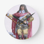 Oliver Cromwell (1599-1658) 1780 (engravi coloread Relojes