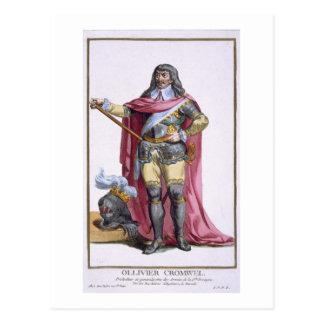 Oliver Cromwell (1599-1658) 1780 (engravi Postales