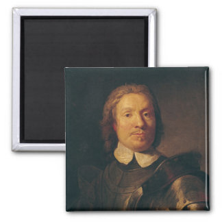 Oliver Cromwell 2 Inch Square Magnet
