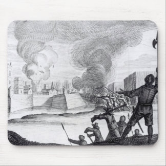 Oliver Cromwell Besieges the Drogheda in 1649-50 Mouse Pad