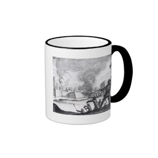 Oliver Cromwell Besieges the Drogheda in 1649-50 Coffee Mugs