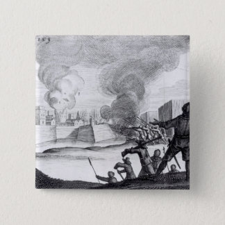 Oliver Cromwell Besieges the Drogheda in 1649-50 Pinback Button