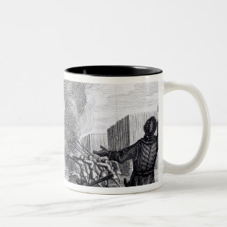 Oliver Cromwell Besieges the Drogheda in 1649-50 Two-Tone Coffee Mug