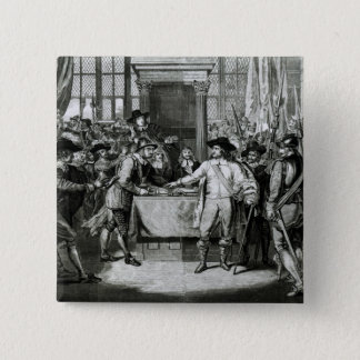 Oliver Cromwell Button