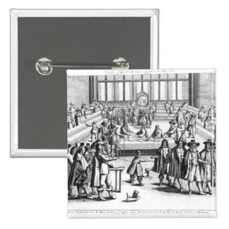 Oliver Cromwell  Dissolving The Parliament Pinback Buttons