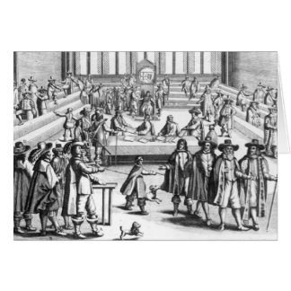 Oliver Cromwell  Dissolving The Parliament Greeting Card