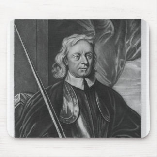 Oliver Cromwell  illustration Mouse Pad