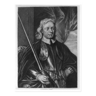 Oliver Cromwell  illustration Postcard