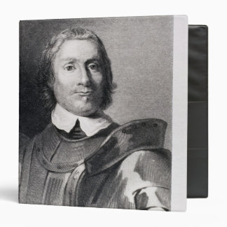 Oliver Cromwell , Lord Protector of England 3 Ring Binder